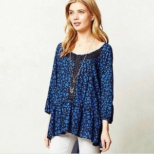 HD in PARIS ressica tunic Anthropologie blouse